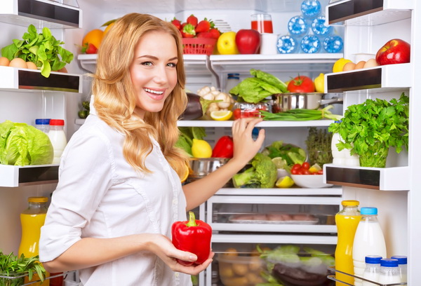 ผลการค้นหารูปภาพสำหรับ รูปผักในตู้เย็นลในครัว